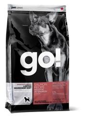 Корм для щенков и взрослых собак, GO! SENSITIVITY + SHINE LID Salmon Dog Recipe, Grain Free, Potato Free, беззерновой, с лососем для чувствительного пищеварения
