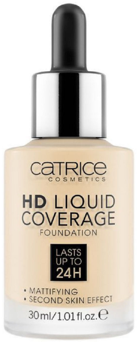 Catrice HD Liquid Coverage Foundation тональный крем 30мл