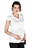 Рубашка для беременных 01314 красный