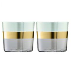 Набор из 2 стаканов Bangle, 310 мл, зелёный, фото 1