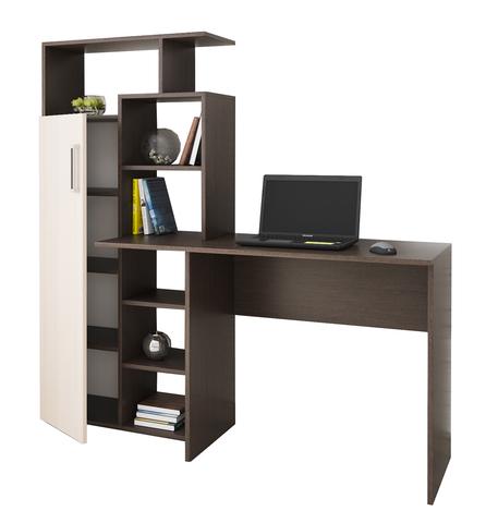 Компьютерный стол Квартет-7 венге