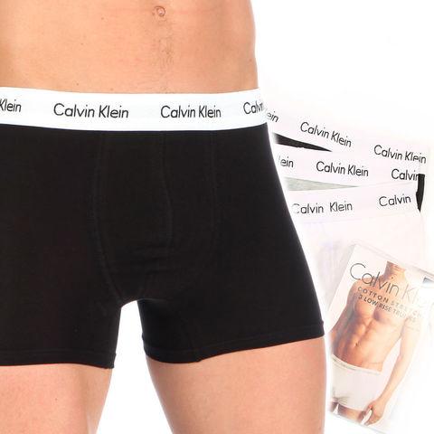 Набор мужских трусов боксеров (черные ,серые, белые) 3шт, Calvin Klein Classic set