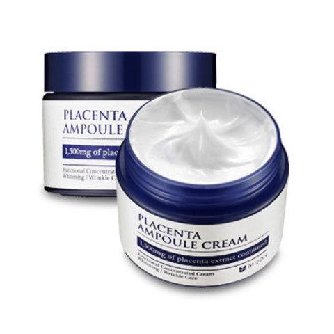 Mizon Placenta Ampoule Cream омолаживающий крем с экстрактом плаценты