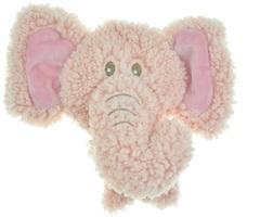 Игрушка для собак, AROMADOG BIG HEAD, Слон 12 см розовый