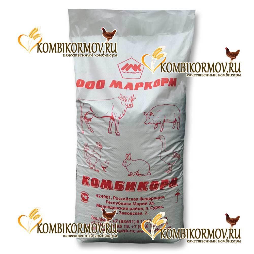 Комбикорм полнорационный для кур-несушек ПК 1-2 (Маркорм)