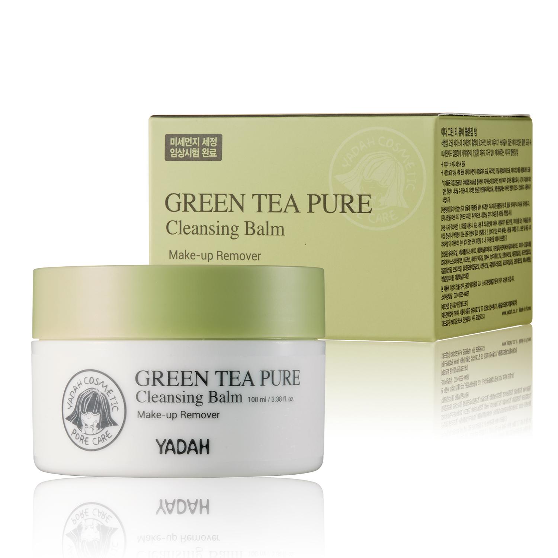 Гидрофильный бальзам Yadah Green Tea Pure Cleansing Balm 100 ml