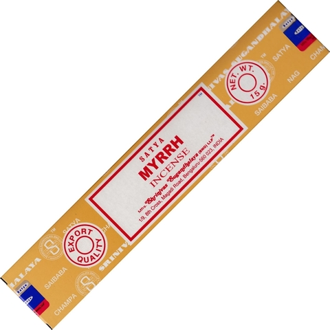 Индийские палочки Satya Myrrh