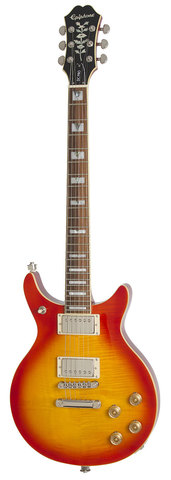 Электрогитара EPIPHONE Genesis-II DC PRO Faded Cherry Sunburst