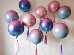Фольгированные шары сферы амбре