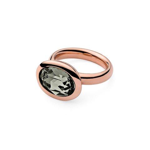 Кольцо Tivola Black diamond 17.2 мм 631284/17.2 BW/RG