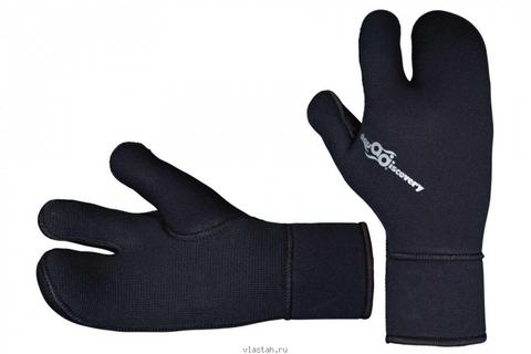Перчатки AquaDiscovery Classic 3-х палые 5 мм