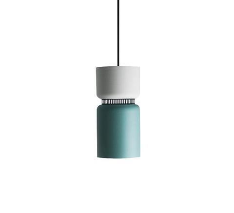 Подвесной светильник копия ASPEN S17 by B.Lux D17 (белый+зеленый)