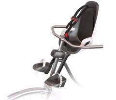 Детское велокресло Hamax Observer серый/белый/черный - 2