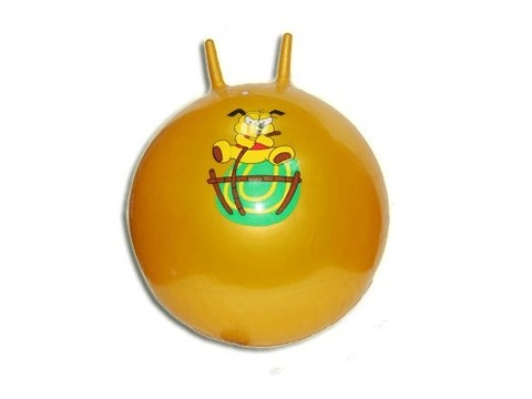 Мяч - прыгун с ушками. Диаметр - 55 см: C 055 Н