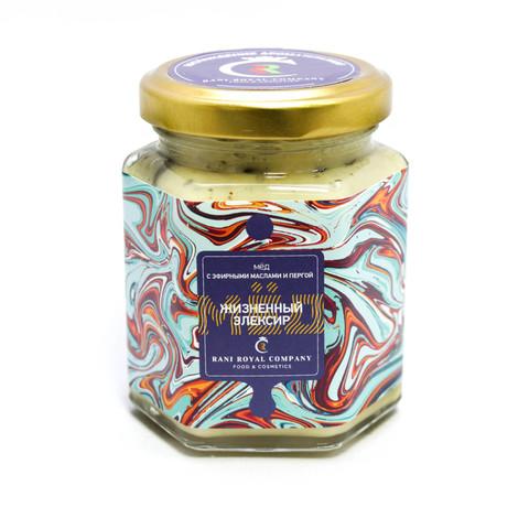 Мёд с эфирными маслами  «Жизненный эликсир» 240г