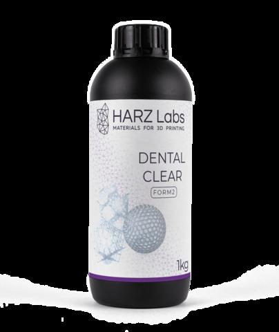 Фотополимер HARZ Labs Dental Clear Form2, прозрачный (1000 гр)