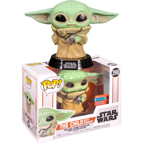 Funko POP: Star Wars The Mandalorian – The Child with pendant (Baby Yoda 398) || Малыш Йода
