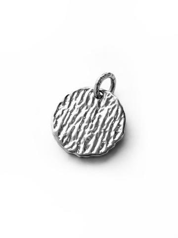 Серебряный медальон «Бык»