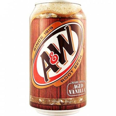 A&W Root Beer корневое пиво 0,355