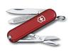 Нож-брелок Victorinox Classic, 58 мм, 7 функций, красный