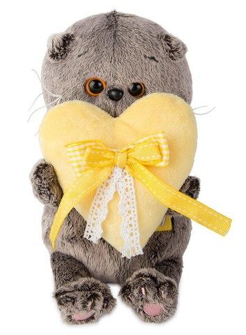 Кот Басик Baby с сердечком