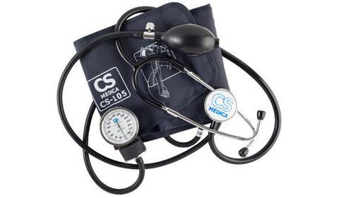 Тонометр механический CS Medica CS-105 со встроенным фонендоскопом