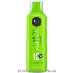 BBcos Keratin Color Oxigen Cream 10 Vol - Окислитель кремообразный 3%