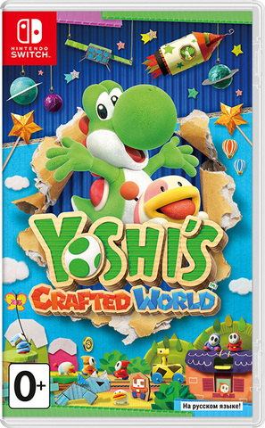 Yoshi's Crafted World (Nintendo Switch, русская версия)