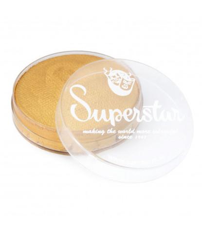 141 Аквагрим Superstar 16 гр перламутровый золотой теплый