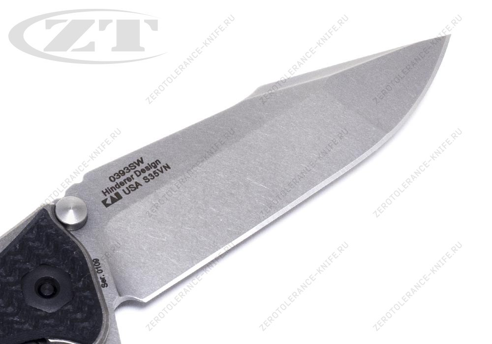 Нож Zero Tolerance 0393SW Rick Hinderer - фотография