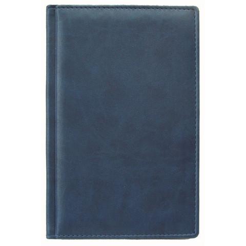 Телефонная книга Attache Вива искусственная кожа А5 96 листов синяя (133х202 мм)