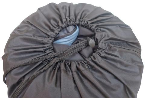 Спальный мешок INDIANA Camper, в собранном виде.