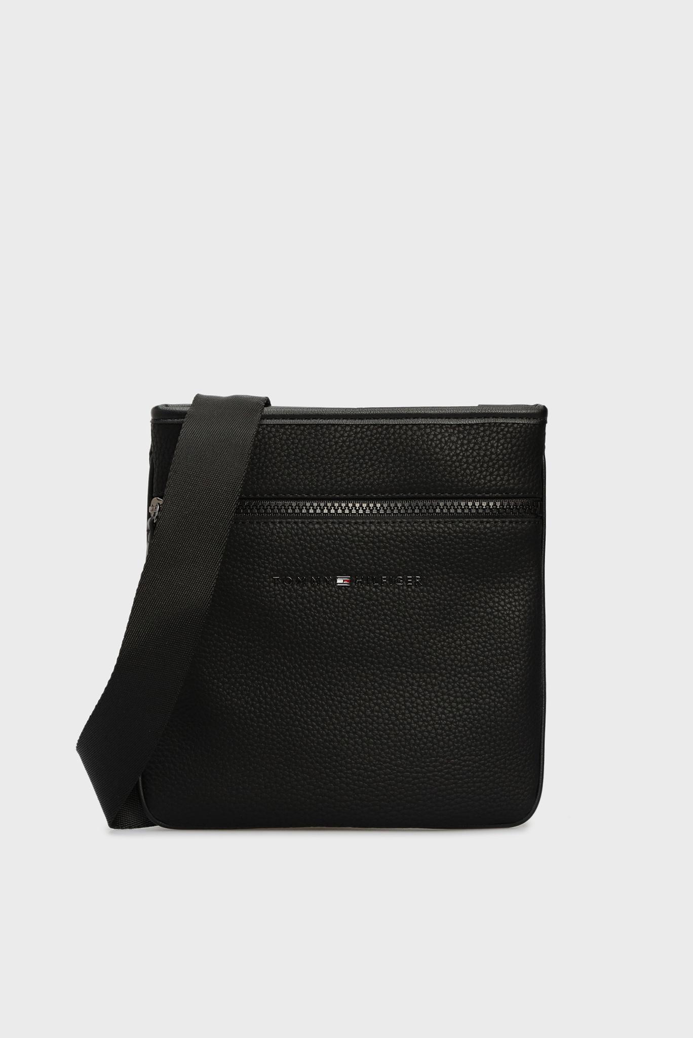 Мужская черная сумка через плечо ESSENTIAL Tommy Hilfiger