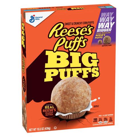 Готовый завтрак Reese's Big Puffs 439 гр