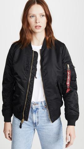 Куртка Alpha Industries MA-1 W Black