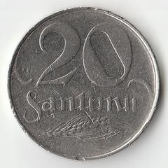 1922 год 20 сантим P1092
