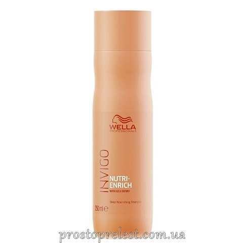 Wella Invigo Nutri-Enrich Deep Nourishing Shampoo - Ультрапоживний шампунь