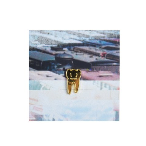 Значок металлический 90 Зуб