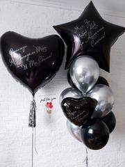 Черные шары для мужчины