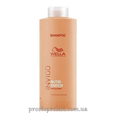 Wella Invigo Nutri-Enrich Deep Nourishing Shampoo - Ультрапоживний шампунь 1000мл