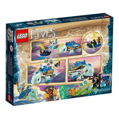 LEGO Elves: Засада Наиды и водяной черепахи 41191 — Naida & the Water Turtle Ambush — Лего Эльфы
