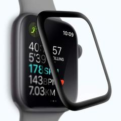 Стекло защитное COTEetCI 4D Black-Rim Full Viscosity Glass 0.1mm для Apple Watch Series 4 (44 мм) CS2216-44-watch