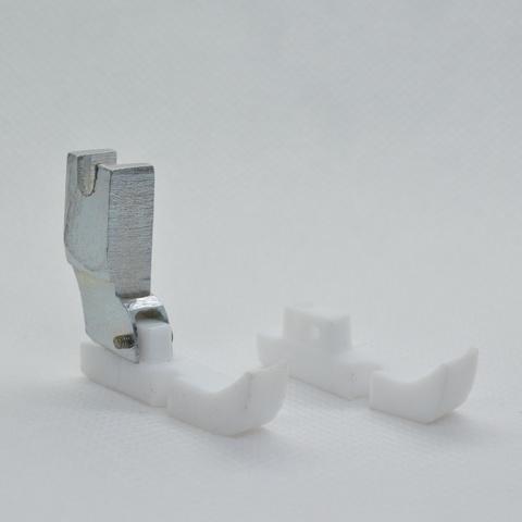 Лапка для вшивания молнии правая фторопластовая с з.п. | Soliy.com.ua