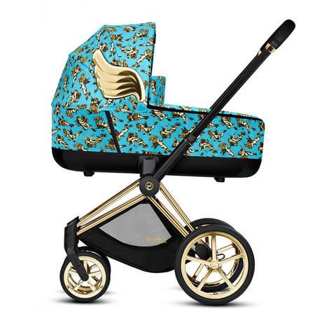 Детская коляска Cybex Priam III 3 в 1 by Jeremy Scott Cherubs Blue
