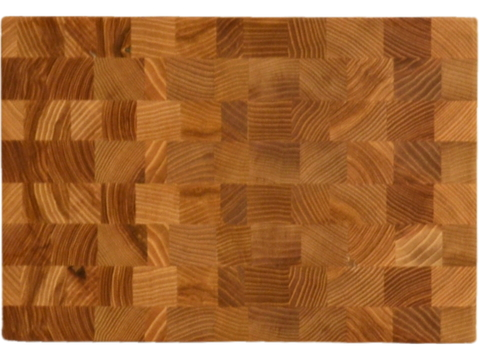 Торцевая разделочная доска 30x20x3 см. ясень, арт. 011