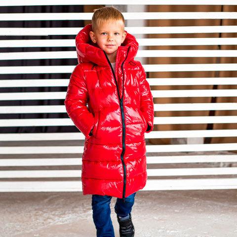 Дитяче, підліткове зимове пальто для хлопчиків