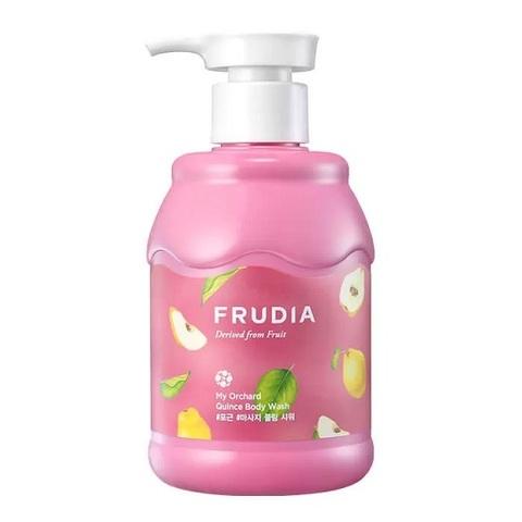 Кремовый гель для душа Frudia с ароматом айвы 350 мл