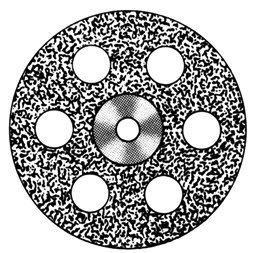 Алмазные Диски HP Standart «SS WHITE» серия DISC 918/190 (200) (0,40 mm) верх.полный.отверстия