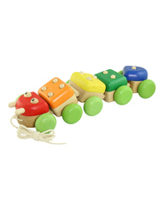 Деревянная игрушка Гусеница I'm Toy