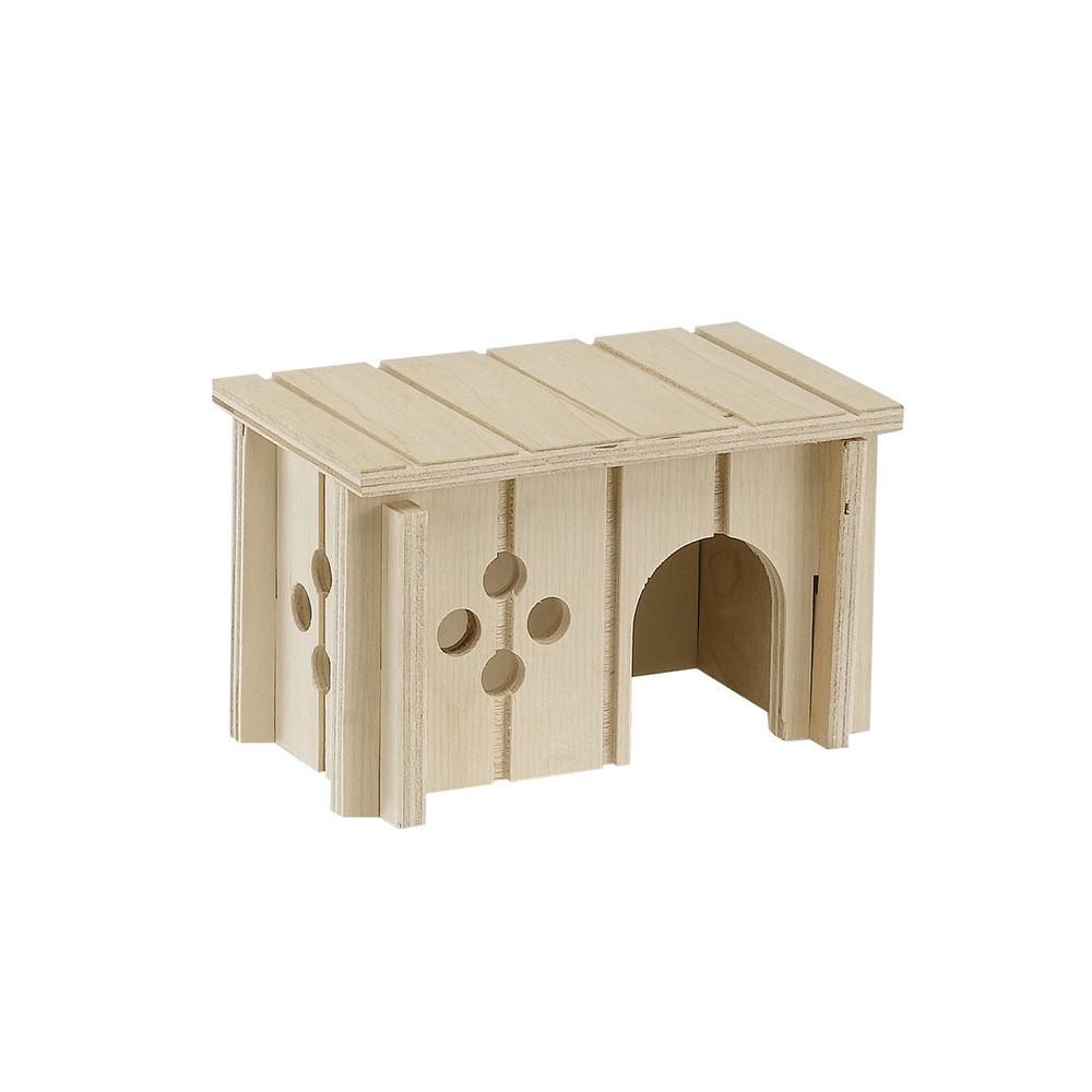 Клетки Деревянный домик для мелких животных, Ferplast SIN 4642 SIN_4641.jpg